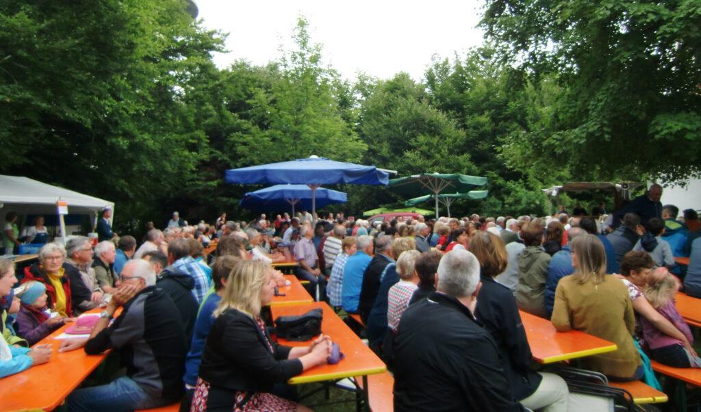 Gäste beim Magdalenenfest 2017